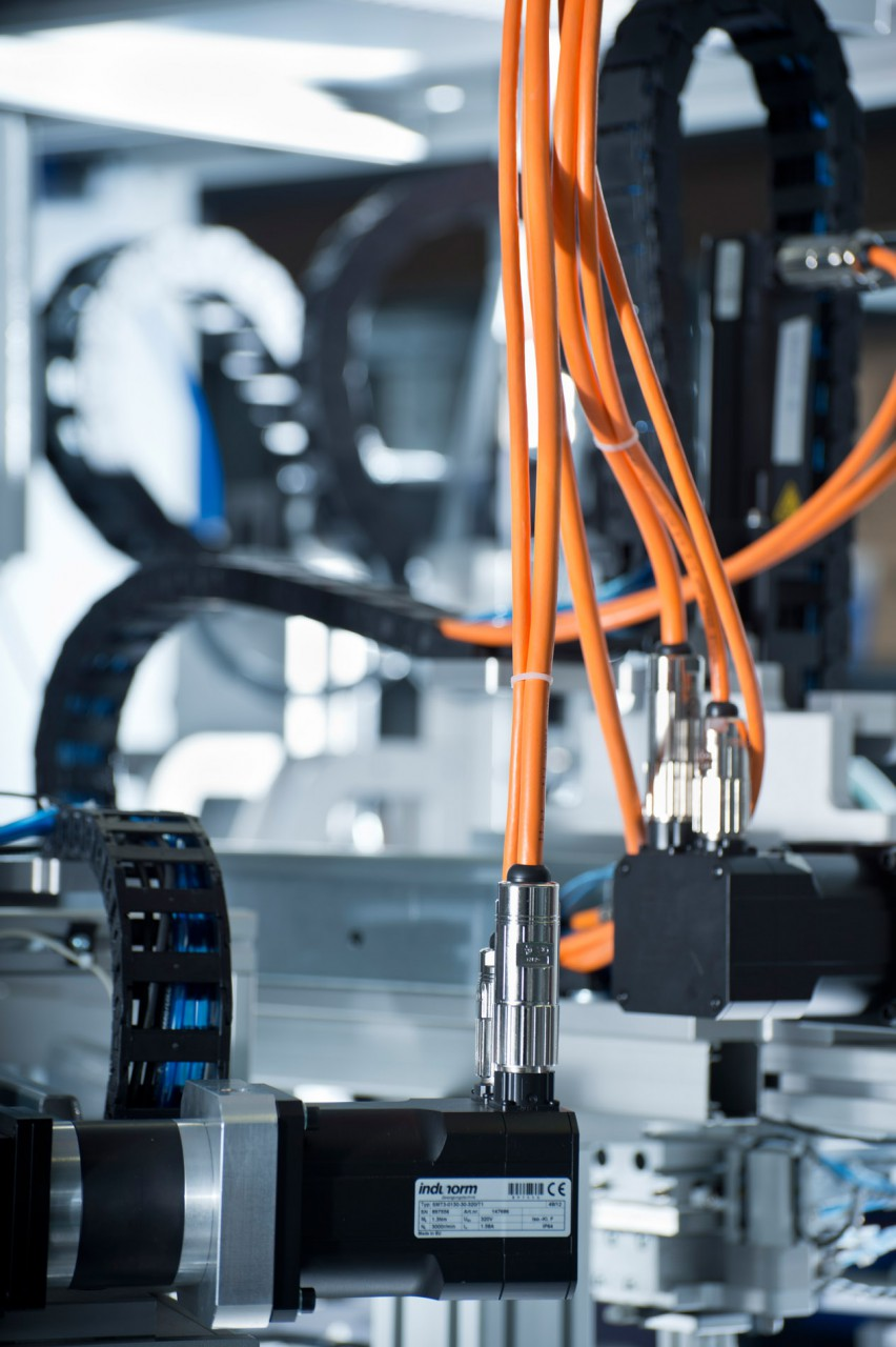 Industriefotografien von Feinmechanik und Maschinenbau